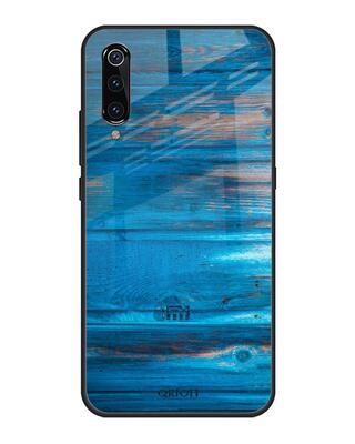 Shop Qrioh Patina Finish Glass case for Xiaomi Mi A3-Front