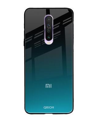 Shop Qrioh Xiaomi Redmi K30 Ultramarine Glass Case-Front