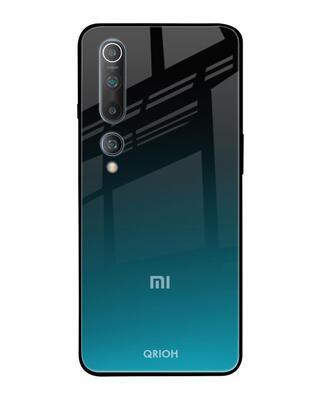 Shop Qrioh Ultramarine Glass Case for Xiaomi Mi 10-Front