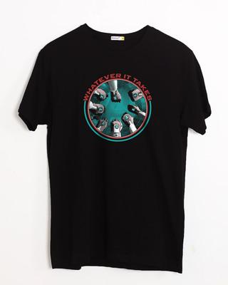 Shop Quantum Mission Half Sleeve T-Shirt (AVEGL)-Front
