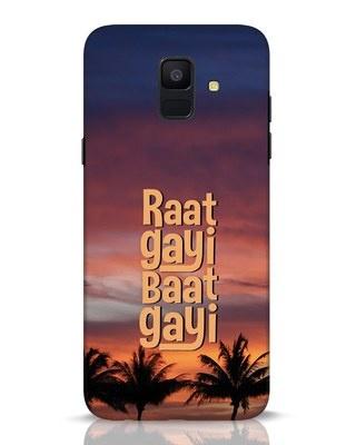 Shop Raat Gayi Baat Gayi Samsung Galaxy A6 2018 Mobile Cover-Front