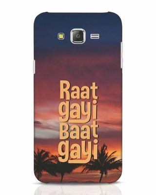 Shop Raat Gayi Baat Gayi Samsung Galaxy J7 Mobile Cover-Front