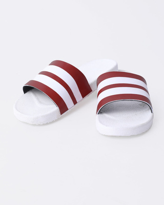 Racer Red Stripes Sliders