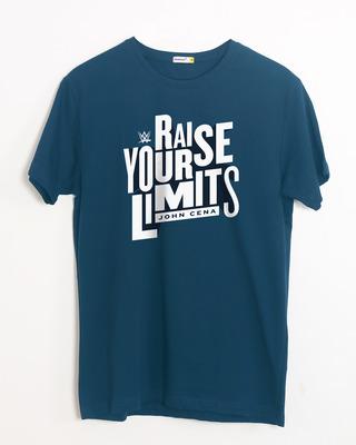 Buy Raise Your Limits Half Sleeve T-Shirt (WWEL) Online India @ Bewakoof.com