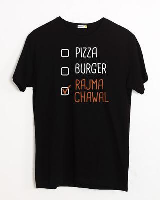 Shop Rajma Chawal Half Sleeve T-Shirt-Front