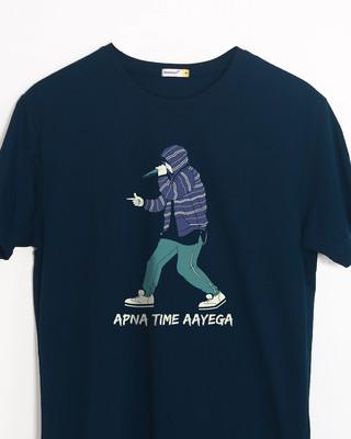 Shop Rap Battle Half Sleeve T-Shirt-Front