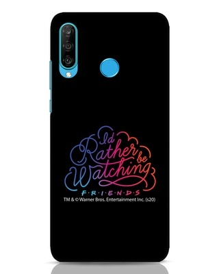 Shop Rather Watch Huawei P30 Lite Mobile Cover (FRL)-Front