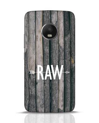 Shop Raw Moto G5 Plus Mobile Cover-Front