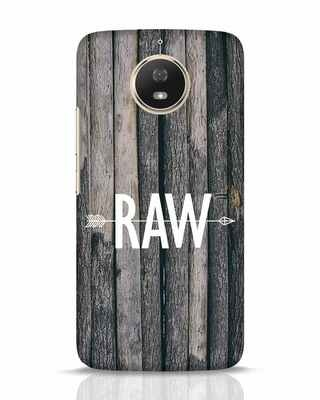 Shop Raw Moto G5s Mobile Cover-Front