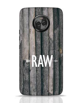 Shop Raw Moto X4 Mobile Cover-Front