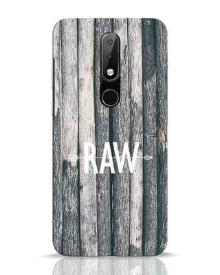 Shop Raw Nokia 6.1 Plus Mobile Cover-Front