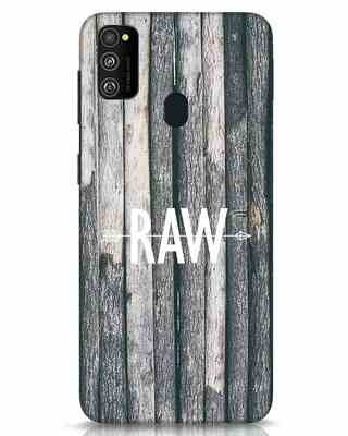 Shop Raw Samsung Galaxy M30s Mobile Cover-Front