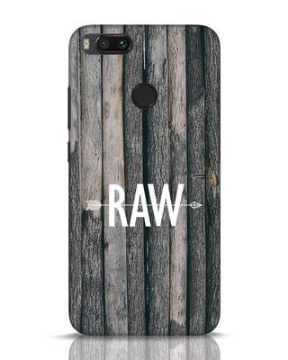 Shop Raw Xiaomi Mi A1 Mobile Cover-Front