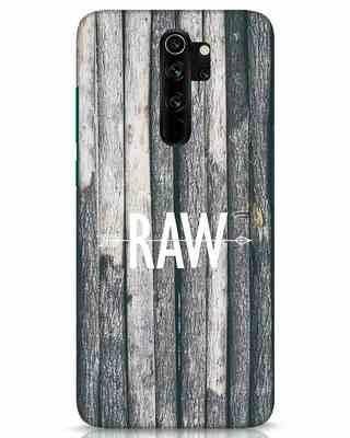 Shop Raw Xiaomi Redmi Note 8 Pro Mobile Cover-Front