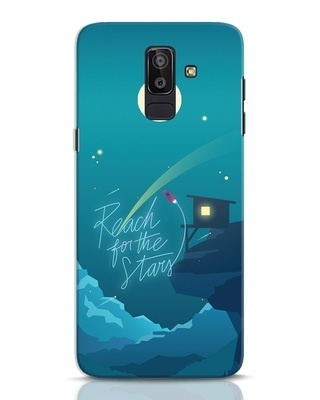 Shop Reach For The Stars Samsung Galaxy J8 Mobile Cover-Front