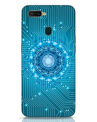 Shop Reactor Oppo A7 Mobile Cover-Front