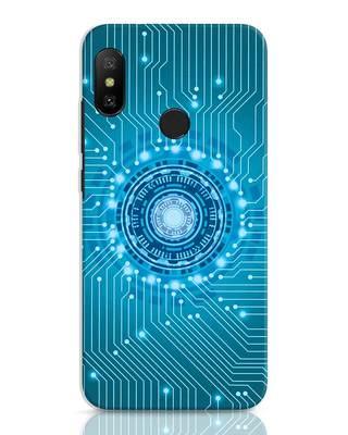 Shop Reactor Xiaomi Redmi 6 Pro Mobile Cover-Front