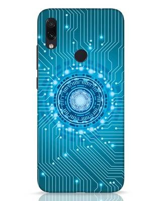Shop Reactor Xiaomi Redmi Note 7 Pro Mobile Cover-Front