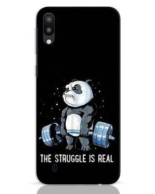 Shop Real Struggle Samsung Galaxy M10 Mobile Cover-Front