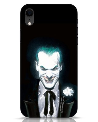 Shop Realistic Joker iPhone XR Mobile Cover (BML)-Front