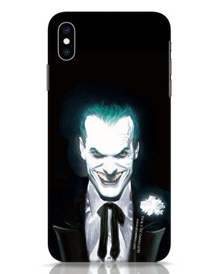Shop Realistic Joker iPhone XS Max Mobile Cover (BML)-Front