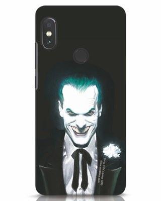 Shop Realistic Joker Xiaomi Redmi Note 5 Pro Mobile Cover (BML)-Front