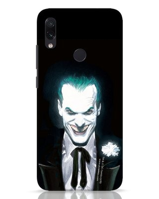 Shop Realistic Joker Xiaomi Redmi Note 7 Pro Mobile Cover (BML)-Front