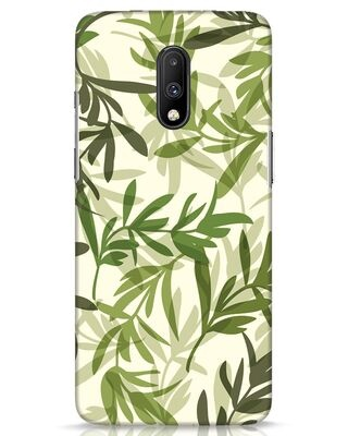 Shop Realistic Leafs OnePlus 7 Mobile Cover-Front