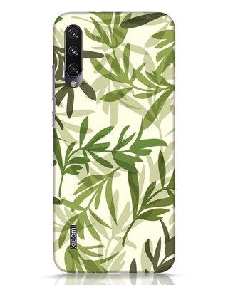 Shop Realistic Leafs Xiaomi Mi A3 Mobile Cover-Front