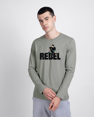 Shop Rebel Sight Full Sleeve T-Shirt-Front