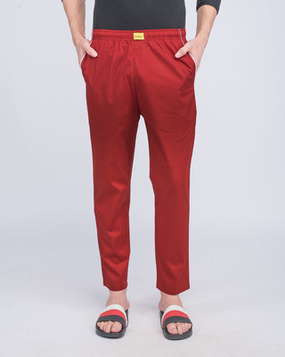 Shop Red Passion Plain Pyjama-Front