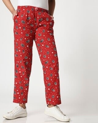 Shop Women All Over Printed Pyjama-Front
