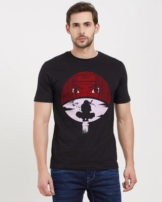 Shop Redwolf The Biggest Sacrifice Cotton Half Sleeves T-Shirt-Front