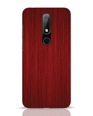 Shop Redwood Nokia 6.1 Plus Mobile Cover-Front