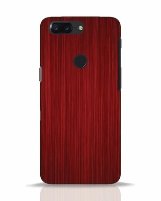 Shop Redwood OnePlus 5T Mobile Cover-Front