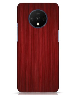 Shop Redwood OnePlus 7T Mobile Cover-Front