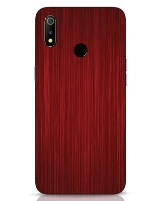 Shop Redwood Realme 3 Mobile Cover-Front