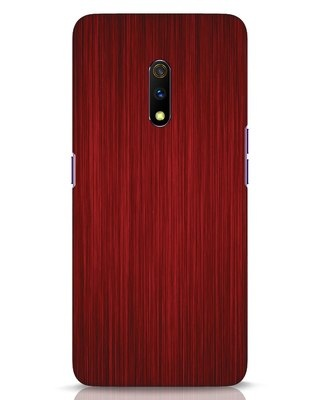 Shop Redwood Realme X Mobile Cover-Front