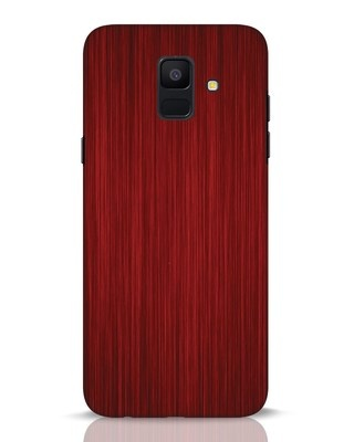 Shop Redwood Samsung Galaxy A6 2018 Mobile Cover-Front