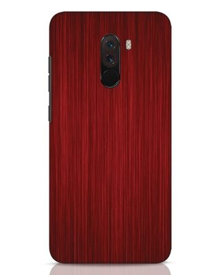 Shop Redwood Xiaomi POCO F1 Mobile Cover-Front