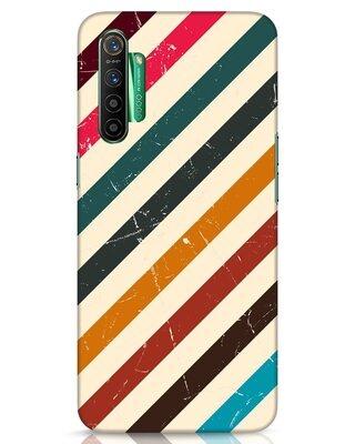 Shop Retro Stripes Realme X2 Mobile Cover-Front