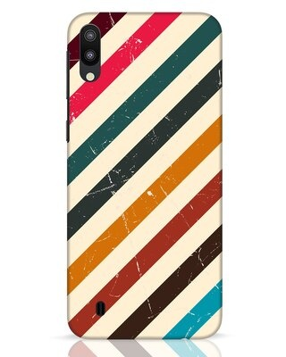 Shop Retro Stripes Samsung Galaxy M10 Mobile Cover-Front