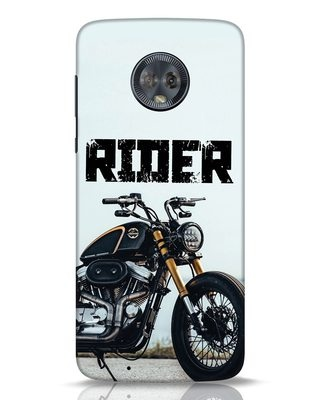 Shop Rider Moto G6 Mobile Cover-Front