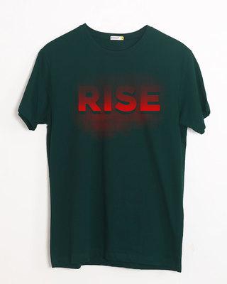 Buy Rise Half Sleeve T-Shirt Online India @ Bewakoof.com