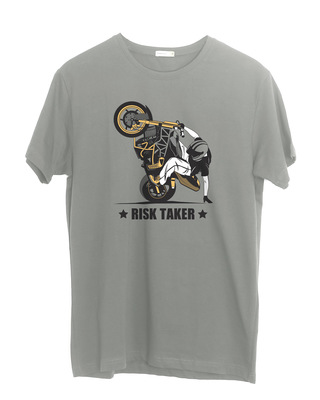 Shop Risk Taker Half Sleeve T-Shirt-Front