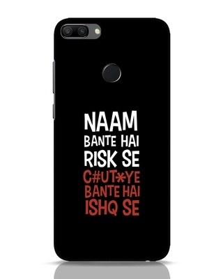 Shop Risky Ishq Huawei Honor 9N Mobile Cover-Front