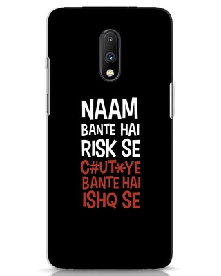 Shop Risky Ishq OnePlus 7 Mobile Cover-Front