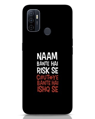 Shop Risky Ishq Oppo A53 Mobile Cover-Front