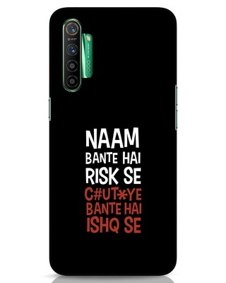 Shop Risky Ishq Realme X2 Mobile Cover-Front
