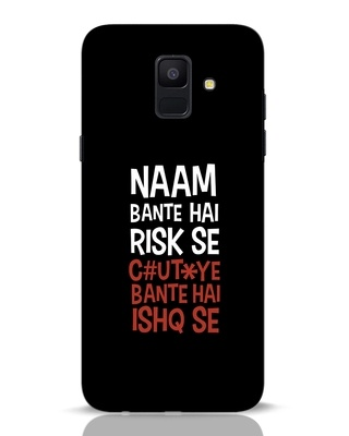 Shop Risky Ishq Samsung Galaxy A6 2018 Mobile Cover-Front